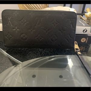 Louis Vuitton Zippy Monogram Empriente Wallet